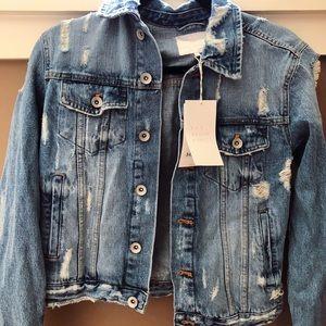 NWT Zara Denim Jacket